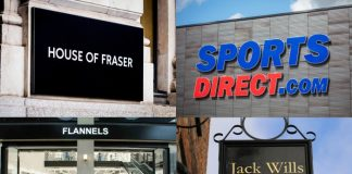 Mike Ashley Frasers Group business rates relief