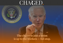 "President Joe Biden has slammed Amazon for its union-busting tactics in a video posted on Twitter stating the choice to ""join a union is up to the workers, full stop""."