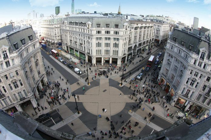 Oxford Street regeneration projects kick off in preparation for lockdown exit