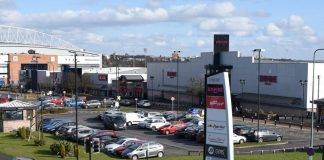 Robin Retail Park Frasers Group acquisition Michael Murray