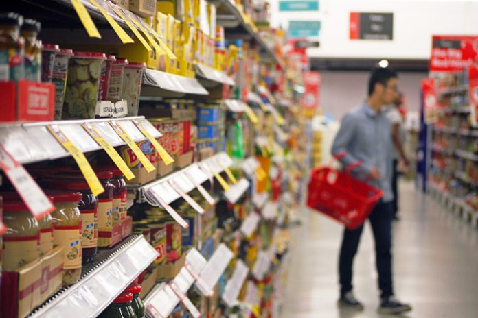 Inflation eases as clothes prices drop