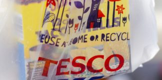Tesco rolls out recycling points for old packading