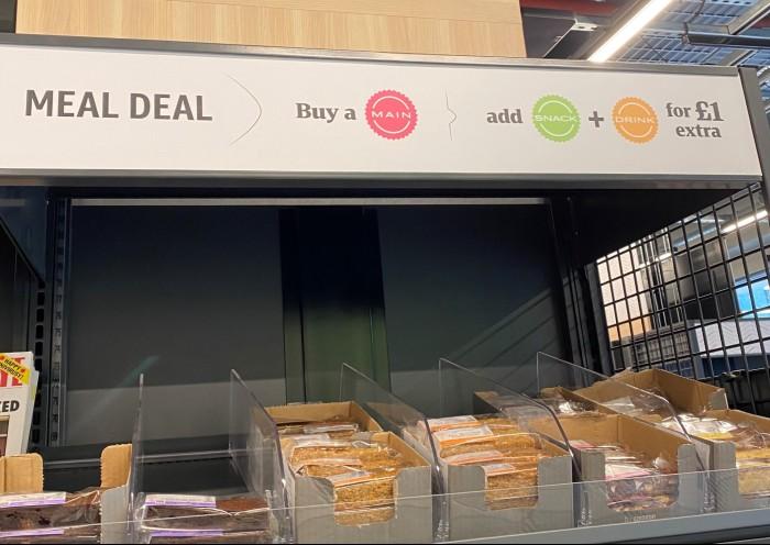 Amazon Fresh cashierless new store