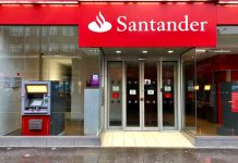 Santander jobs store closures