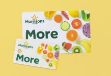 Morrisons loyalty card plastic online shopping