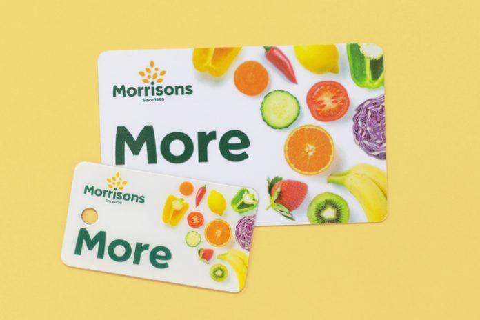 Morrisons loyalty card plastic online shopping