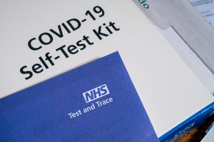lateral flow tests Department for Health and Social Care covid-19 pandemic lockdown testing