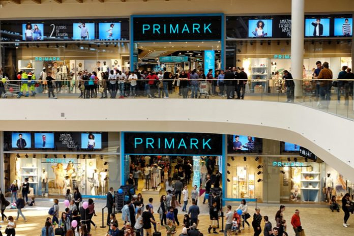 Primark to more than double store estate in Italy by end of 2022