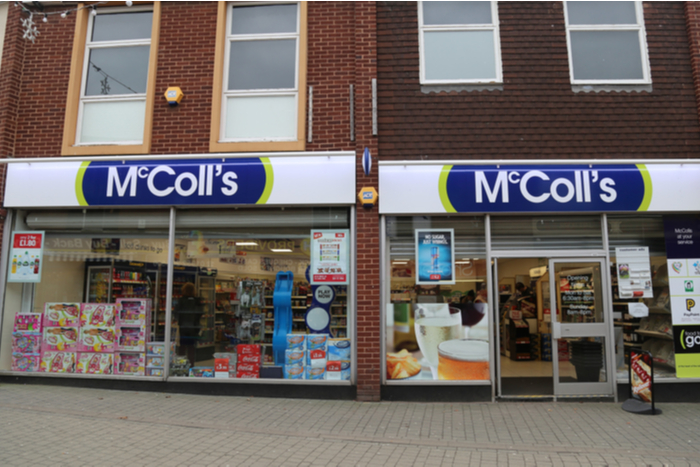 Convenience stores McColl's covid-19 pandemic lockdown