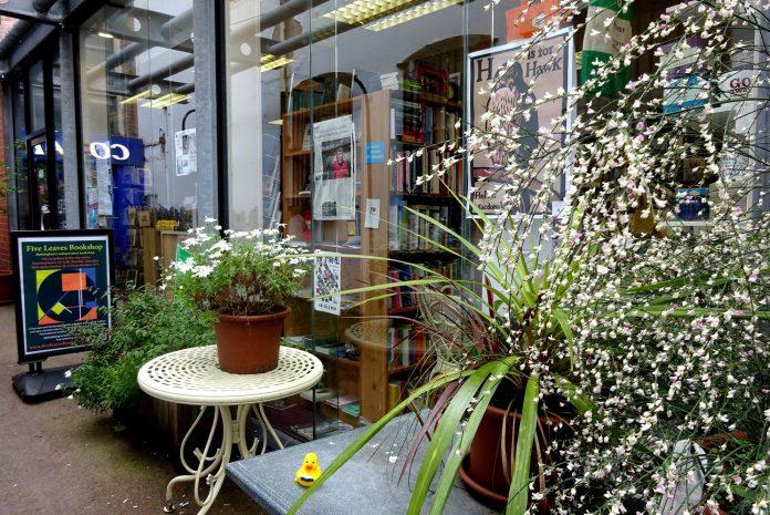 Five Leaves Bookshop Nottingham profile indie independent retail bookstore, book shop, books Ross Bradshaw