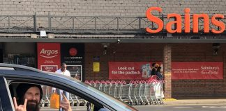 Gareth Wild 6-year challenge to park in every spot at local Sainsbury's Bromley London viral social media Twitter carpark parking
