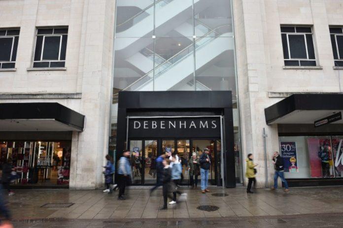 Debenhams reveals 52 store closure dates as part of liquidation