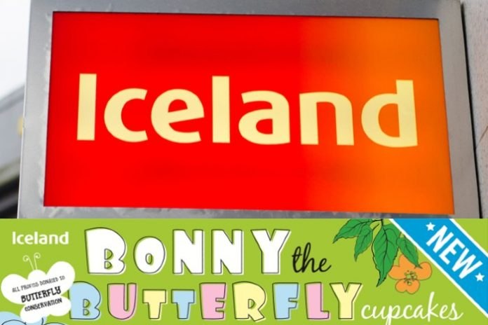 Iceland wades into caterpillar cake furore with new Bonny the Butterfly cupcakes