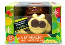 Marks & Spencer M&S Aldi Colin the Caterpillar Cuthbert