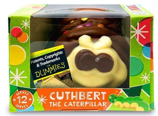 Marks & Spencer M&S Aldi Colin the Caterpillar Cuthbert