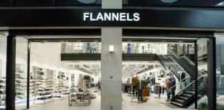 Flannels Frasers Group expansion flagship elevation