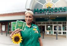 Rose Morgan Morrisons Peckham worker who convinced her CEO David Potts to give away sunflower seeds