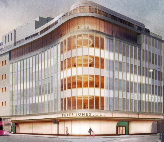 John Lewis to start renovation work on Peter Jones façade