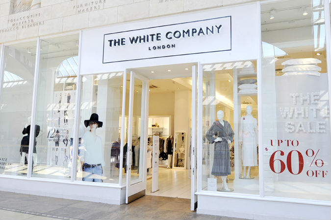The White Company bolstered by strong online sales