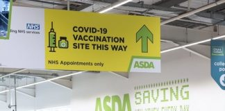 Asda opens 3rd in-store Covid vaccination centre & first in London