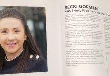 Becki Gorman, Unsung Hero M&S profile community