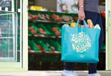 Co-op bags for life plastic waste