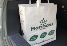 Morrisons bags for life plastic David Potts