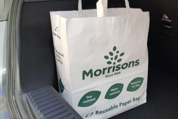 Morrisons bags for life plastic David Potts