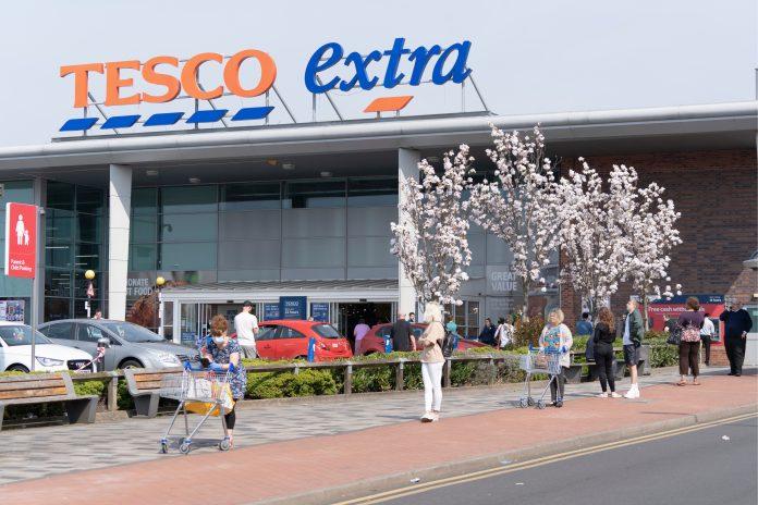 Tesco profits dive 20% despite surging grocery sales during pandemic