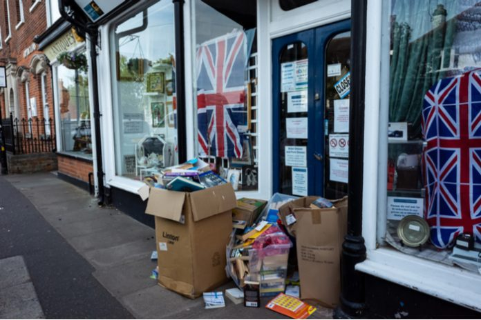 Charity shops urge Brits to stop donating