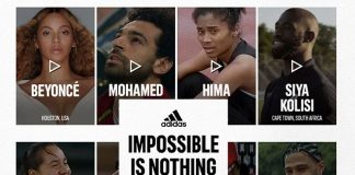 Adidas' Impossible Is Nothing campaign starring Beyoncé & other stars