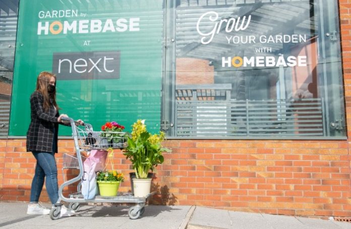 Homebase Next Damian McGloughlin partnership garden centres