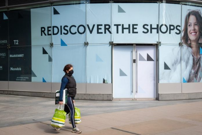Health of UK retail given boost as reopenings unleash pent up demand