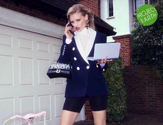 Selfridges rental hurr Victoria Prew