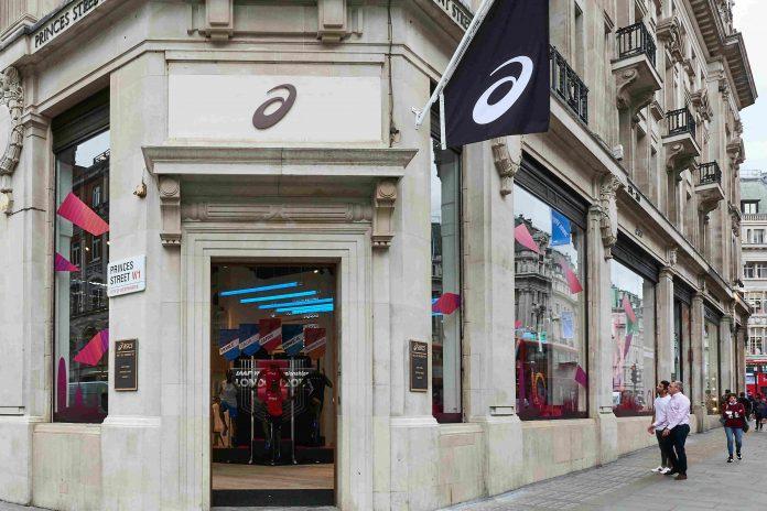 Soaring ecommerce sales bolsters Asics coffers