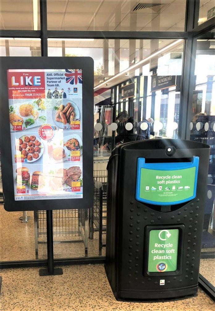 Aldi launches soft plastic collection trial