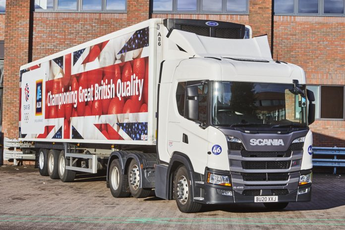 As the 2021 Olympic Games in Tokyo nears Aldi has launched a children's lorry design competition with Team GB.tion with Team GB, calling on budding child artists to submit a design for its latest lorry.