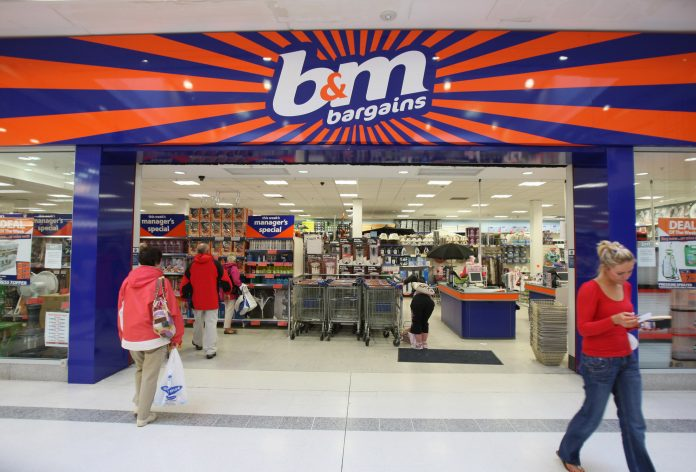 B&M forecast to post at least £590m in earnings amid pandemic gains