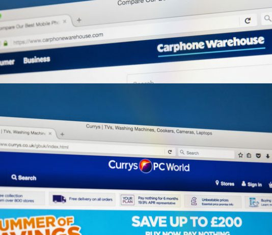 Dixons Carphone to become Currys in major rebrand