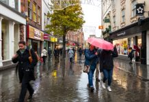 Rain hampers footfall comeback in 1st week since full UK-wide reopening