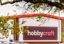 Hobbycraft has announced that its sales have grown 15 per cent versus pre-pandemic levels following store reopenings in April.