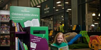 Retail Gazette Loves: Morrisons' Little Library book exchange