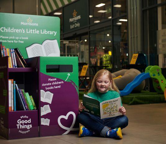 Retail Gazette Loves: Morrisons' Little Library book exchange