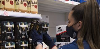 50m pieces of plastic scrapped from Tesco beers & ciders