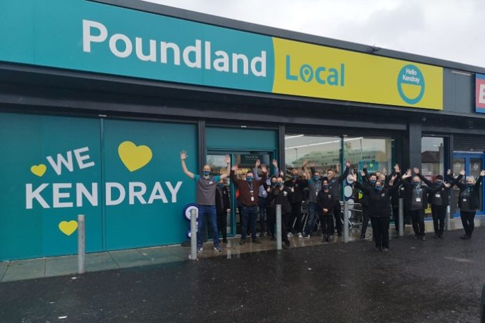 Poundland Local convenience retail