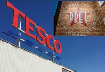 Pret a Manger Tesco Pano Christou shop-in-shops