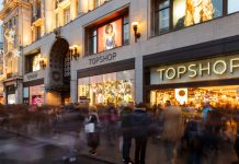 Topshop flagship Arcadia Group