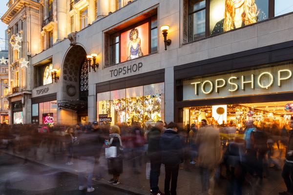 Topshop flagship Arcadia Group