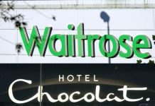 Hotel Chocolat Waitrose partnership Thorntons Angus Thirlwell chocolate