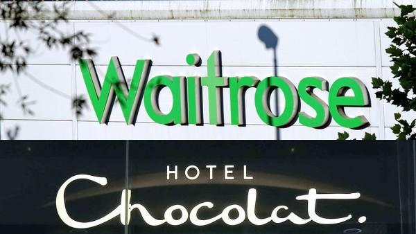 Hotel Chocolat Waitrose partnership Thorntons Angus Thirlwell chocolate